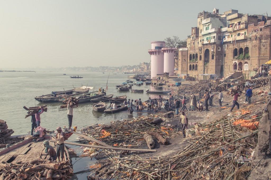 Crematorium, Varanasi